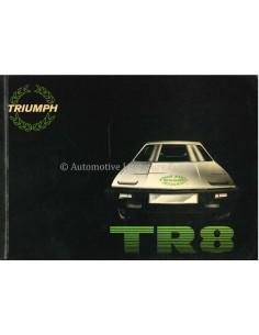 1980 TRIUMPH TR8 BETRIEBSANLEITUNG ENGLISCH
