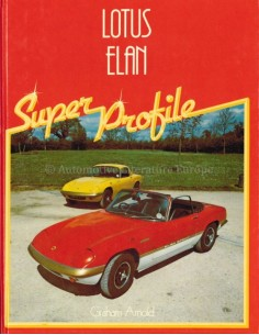LOTUS ELAN, SUPER PROFILE - GRAHAM ARNOLD - BOOK