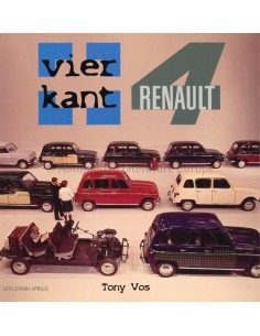 VIERKANT RENAULT 4 - TONY VOS - BOOK