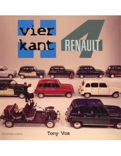 VIERKANT RENAULT 4 - TONY VOS - BUCH