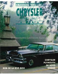 DE PERSONENWAGENS VAN CHRYSLER 1945-1965 - ROB DE LA RIVE BOX - BOOK
