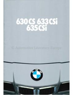 1979 BMW 6 SERIE BROCHURE NEDERLANDS