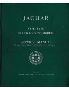 1960 JAGUAR 3.8 LITRE GRAND TOURING SERVICE HANDBOEK ENGELS