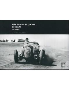 2020 ALFA ROMEO 8C 2900A BOTICELLA BOOK ENGLISH
