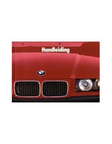 1992 BMW 3 SERIE INSTRUCTIEBOEKJE NEDERLANDS