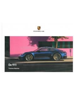 2020 PORSCHE 911 CARRERA HARDCOVER PROSPEKT NIEDERLÄNDISCH