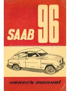 1962 SAAB 96 INSTRUCTIEBOEKJE ENGELS