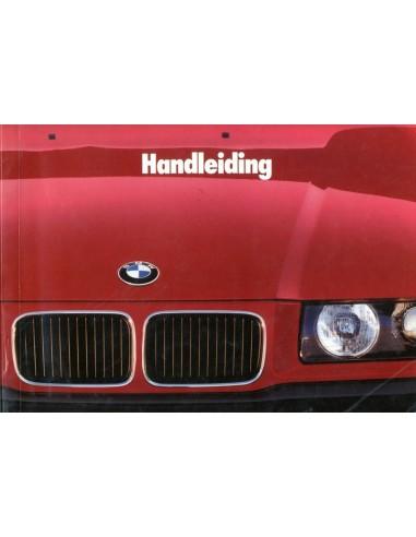 1990 BMW 3 SERIE INSTRUCTIEBOEKJE NEDERLANDS
