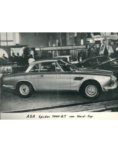 1966 ASA SPIDER 1000 GT HARD-TOP PRESSE BILD
