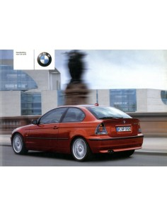 2002 BMW 3 SERIE COMPACT INSTRUCTIEBOEKJE NEDERLANDS