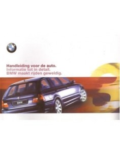 2000 BMW 3 SERIE TOURING INSTRUCTIEBOEKJE NEDERLANDS