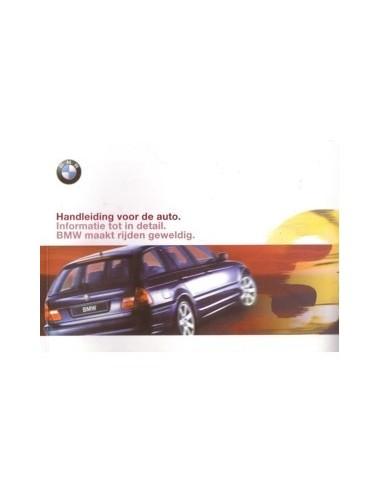 2000 BMW 3 SERIE TOURING INSTRUCTIEBOEKJE NEDERLANDS