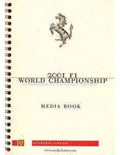 2001 FERRARI F1 WORLD CHAMPIONSHIP - MEDIA BUCH