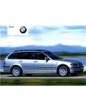 2001 BMW 3 SERIE TOURING INSTRUCTIEBOEKJE NEDERLANDS