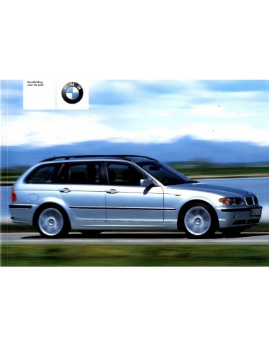 2001 BMW 3 SERIE TOURING INSTRUCTIEBOEKJE NEDERLANDS
