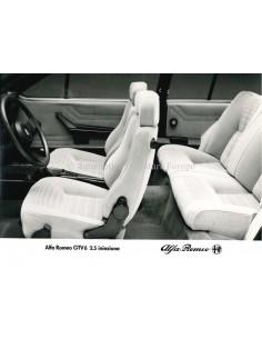 1980 ALFA ROMEO GTV6 2.0 INIEZIONE PRESS PHOTO