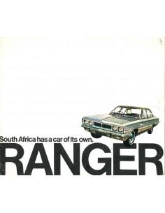 1969 GM RANGER PROGRAMM PROSPEKT ENGLISCH