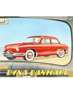 1958 PANHARD DYNA BROCHURE FRENCH