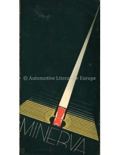 1934 MINERVA M4 12HP PROSPEKT NIEDERLANDISCH