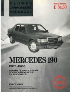 1983 - 1988 MERCEDES BENZ 190 REPARATURANLEITUNG ENGLISCH