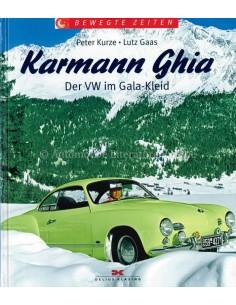 KARMANN GHIA, DER VW IM GALA-KLEID - PETER KURZE & LUTZ GAAS - BUCH