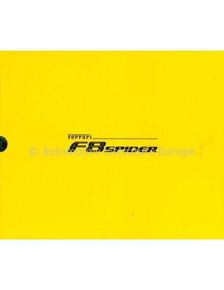 2020 FERRARI F8 SPIDER HARDBACK BROCHURE 6800/20