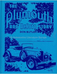THE PLYMOUTH AND DESOTO STORY - DON BUTLER - BOOK