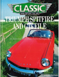 TRIUMPH SPITFIRE AND GT6 FILE - GRAHAM ROBSON - BOOK