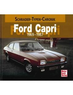 FORD CAPRI - 1969-1987 - HALWART SCHRADER - BOEK