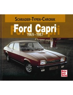 FORD CAPRI - 1969-1987 - HALWART SCHRADER - BOOK