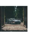 2020 FERRARI 812 GTS HARDCOVER PROSPEKT ENGLISCH