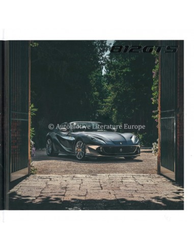 2020 FERRARI 812 GTS HARDBACK BROCHURE ENGLISH