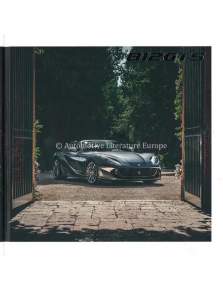 2020 FERRARI 812 GTS HARDBACK BROCHURE ENGLISH