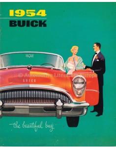 1954 BUICK RANGE BROCHURE ENGLISH