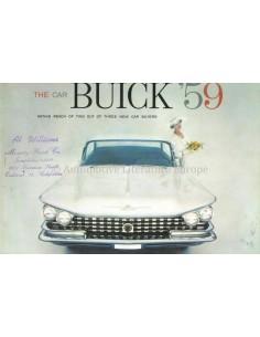 1954 BUICK PROGRAMMA PROSPEKT ENGLISCH