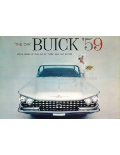 1959 BUICK RANGE BROCHURE ENGLISH