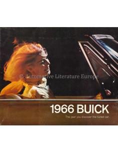 1966 BUICK PROGRAMMA PROSPEKT ENGLISCH