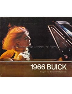 1966 BUICK RANGE BROCHURE ENGLISH