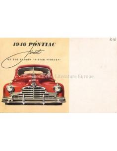 1946 PONTIAC FINEST OF THE FAMOUS SILVER STREAKS PROSPEKT ENGLISCH