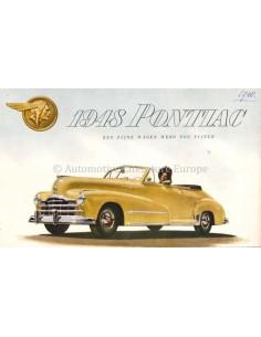 1936 PONTIAC PROGRAMMA BROCHURE NEDERLANDS