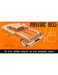 1955 PONTIAC V8 BROCHURE NEDERLANDS