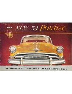 1953 PONTIAC CHIEFTAIN / STAR CHIEF BROCHURE ENGLISH
