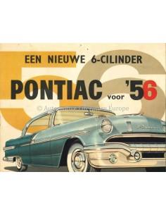 1956 PONTIAC PATHFINDER DE LUXE / LAURENTIAN BROCHURE NEDERLANDS