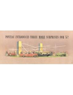 1957 PONTIAC BONNEVILLE / SAFARI PROSPEKT ENGLISCH