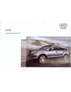 2008 audi q7 owners manual handbook lettish automotive.
