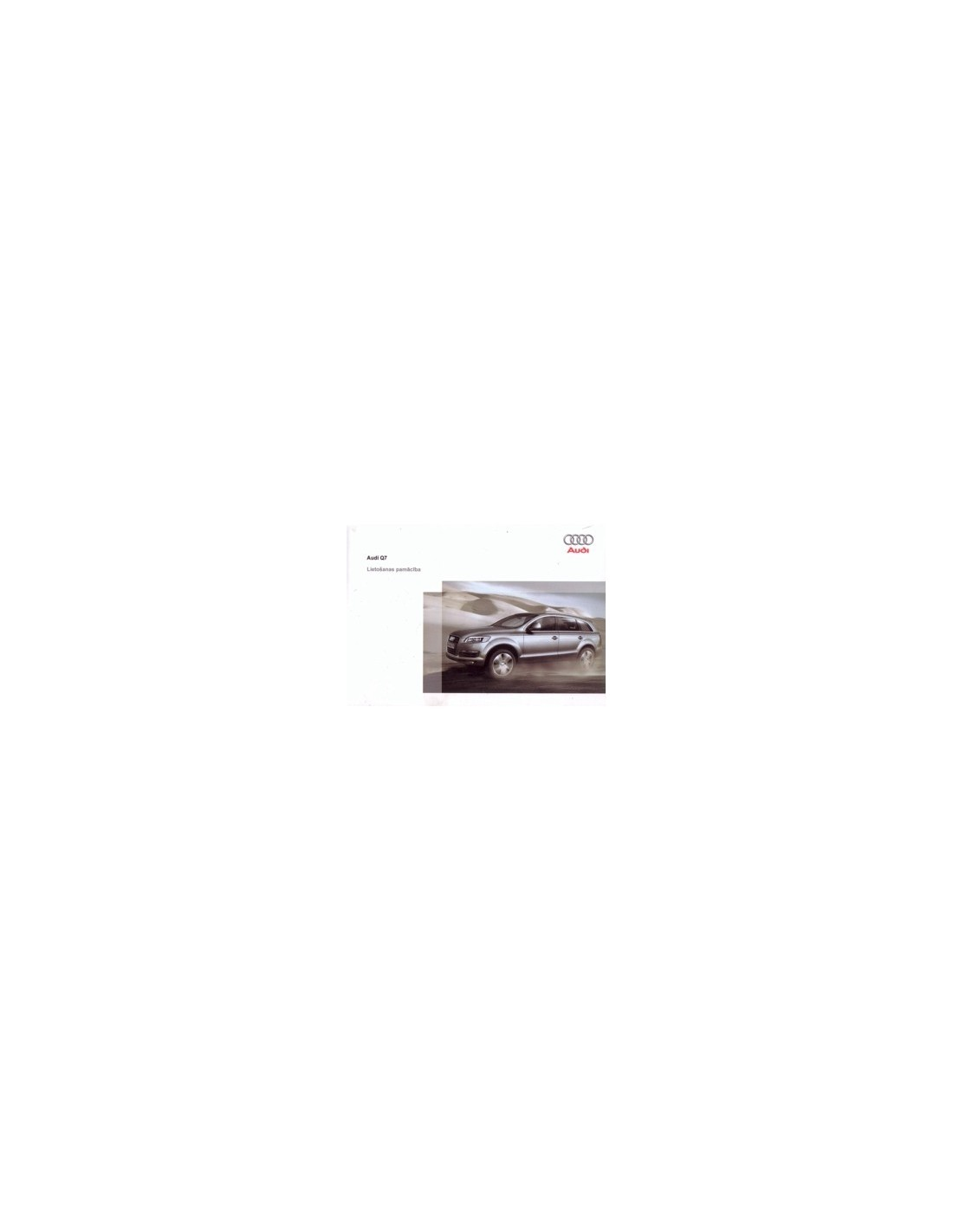 Audi q7 2007 repair manual servicemanualspdf.