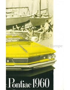 1960 PONTIAC PARISIENNE / LAURENTIAN BROCHURE NEDERLANDS