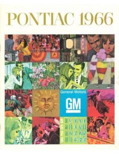 1966 PONTIAC PROGRAMMA BROCHURE ENGELS