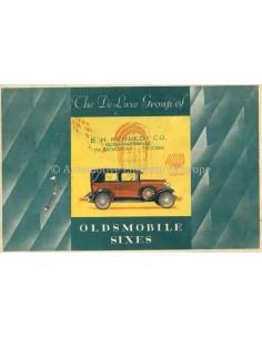 1928 OLDSMOBILE SIXES BROCHURE ENGELS
