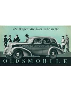 1936 OLDSMOBILE PROGRAMM PROSPEKT NIEDERLÄNDISCH